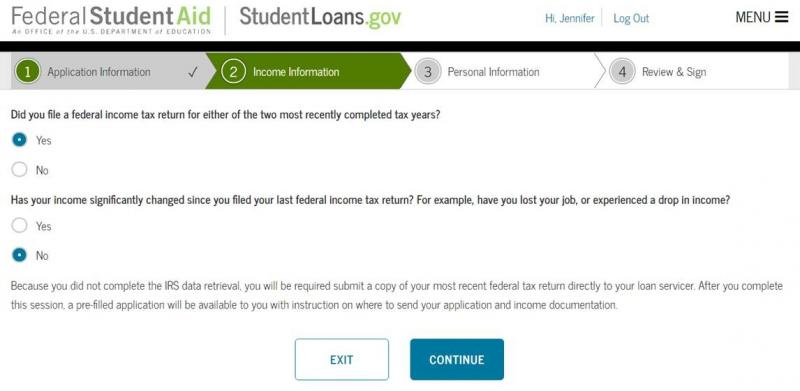 Irs Data Retrieval Tool The Institute For College Access And Success